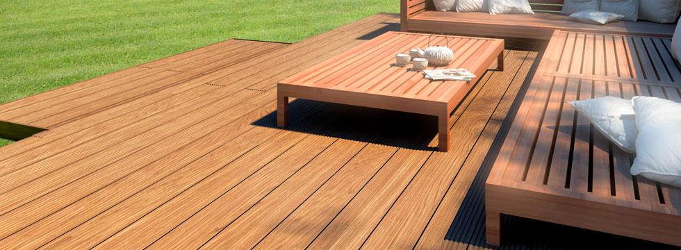 Verwonderlijk Houten terrasplanken in tuin leggen – Kalame.be ET-85